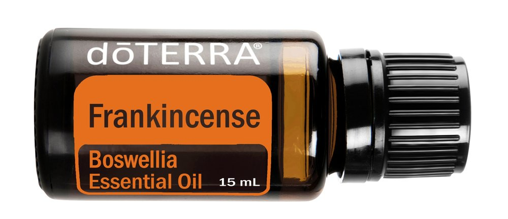 Frankincense    Calm Down.  Inhale with Lavender and Peppermint and apply to neck to help calm stress and relieve tension.  Nourish Your Skin.  Use a drop of Frankincense with 3 drops of carrier oil or dōTERRA Spa Hand and Body Lotion for beautiful, radiant looking skin.  Spread The Love.  Frankincense smells wonderful and uplifts the mood. Wear it as a perfume to lift your mood and feelings of alertness.  Overworked Hands?  Rub Frankincense on your hands after a long day of gardening or working to promote a normal inflammatory response.  Time To Focus.  Apply 1-2 drops to your temples and the back of your neck to help improve your concentration.  Nails Of Steel.  Dry weather can take a toll on your nails. Try applying a drop of Frankincense to strengthen weak fingernails.  Goodness In A Cup.  Dilute a drop of Frankincense in 1 teaspoon of honey or in a small herbal tea and take daily to maintain good health.  A Calming Mood Lifter.  Frankincense can be applied to the bottoms of feet to relax and calm mood swings minor to major. In fact, it has been used to calm expectant mothers during pregnancy and labor. Diffuse in the room or massage a drop onto the chest or back of the neck.  Cellular Vigour.  Frankincense is a component of DDR Prime because it promotes healthy cellular proliferation. So, take Frankincense in a Veggie Capsule to support healthy cells in your body!  No More Nerves.  Use Frankincense to help relieve anxiety and create a positive mood! Try combining Frankincense, Peppermint and Wild Orange essential oil in your hand, rub hands together, and inhale deeply. This mix will also help with the most severe need for a three o' clock pick-me-up!  Be Youthful.  Frankincense can help promote youthful, radiant looking skin and slow the signs of aging by reducing the appearance of skin imperfections. Dab with 1 drop of a carrier oil to trouble areas.  Relax And Revitalise.  Soak in a warm Frankincense bath to calm the nerves or diffuse Frankincense in the bathroom while you relax in the tub.  Frank To The Rescue.  Frankincense has been used for centuries for challenged skin, skin problems and nearly everything related to skin. It's wonderful for ageing skin too! Apply directly to the skin and dab the excess with a cotton ball.  Muscle & Soreness Relief.  Use Frankincense with a cold compress after working out or on a hot day to cool down and relax. Or, use with a hot compress to soothe tired muscles or occasional cramps.  Personal Sauna.  After showering, add a few drops to a warm, wet washcloth for a final rinse. Enjoy the earthy smell as the steam creates your own personal sauna.