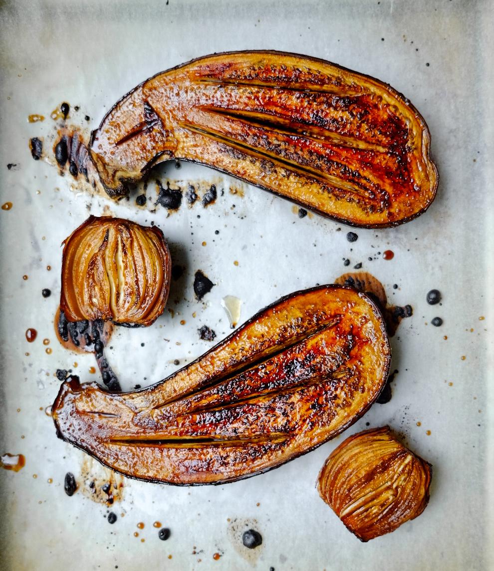Roast Eggplant -