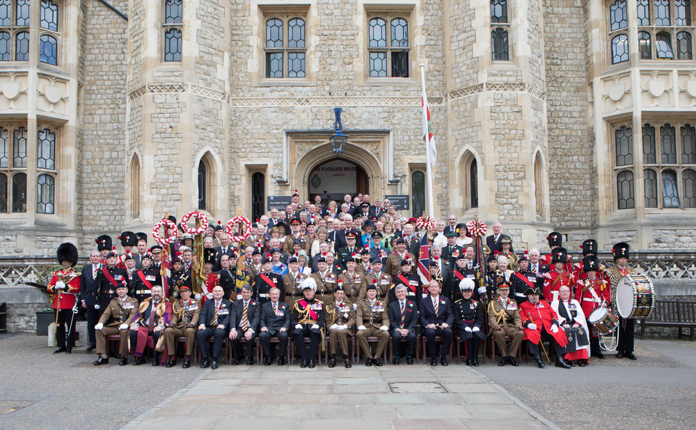 The Royal Regiment of Fusiliers celebrates its 50th Anniversary in 2018