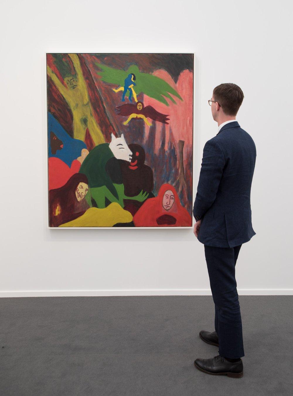 Bob Thompson, LaCaprice, 1963  Michael Rosenfeld Gallery, New York  Frieze Masters 2017
