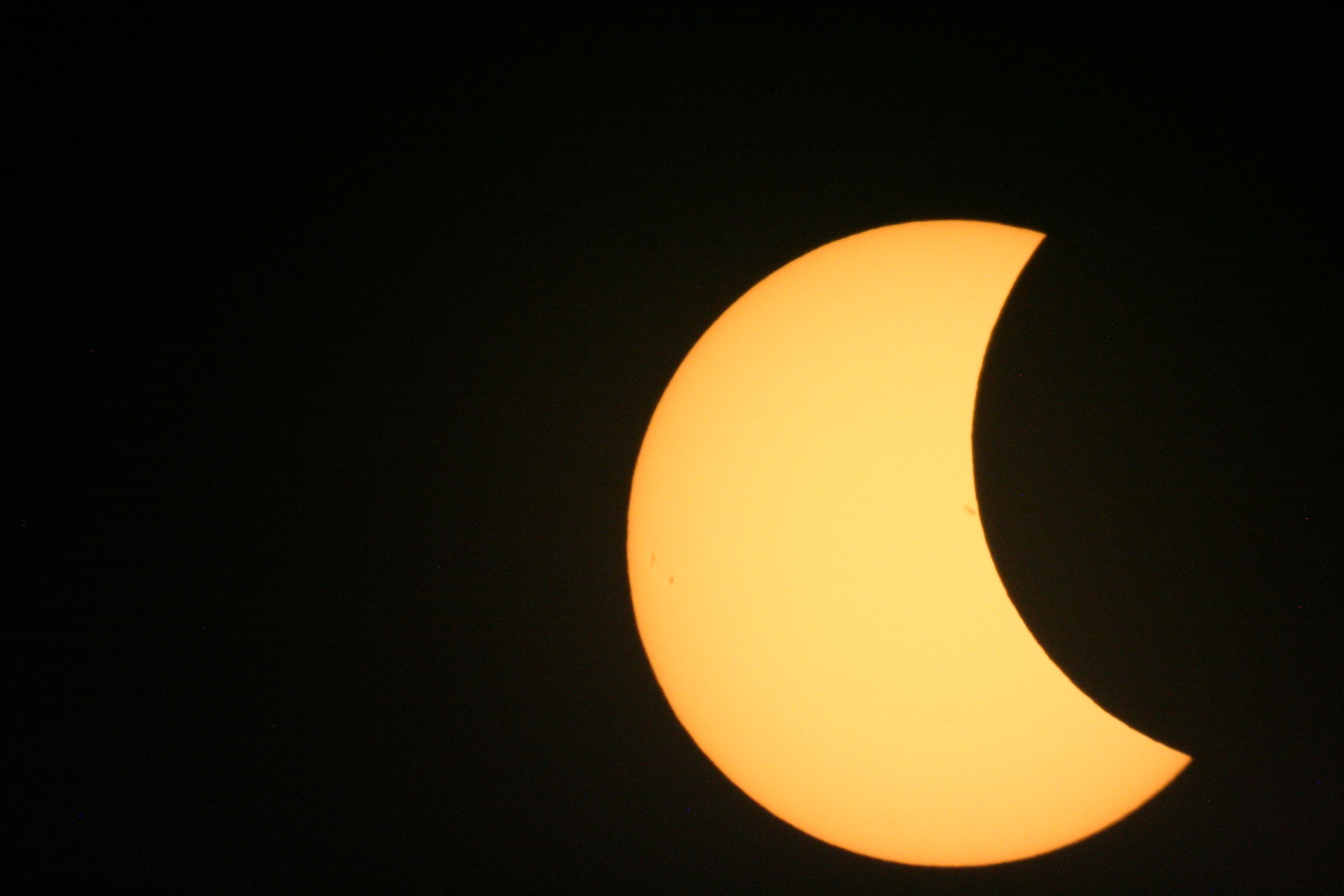 Sunspot Occultation