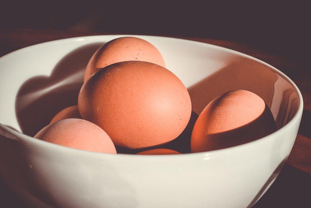 Tipp 1 - Der Frische-Test bei Eiern?