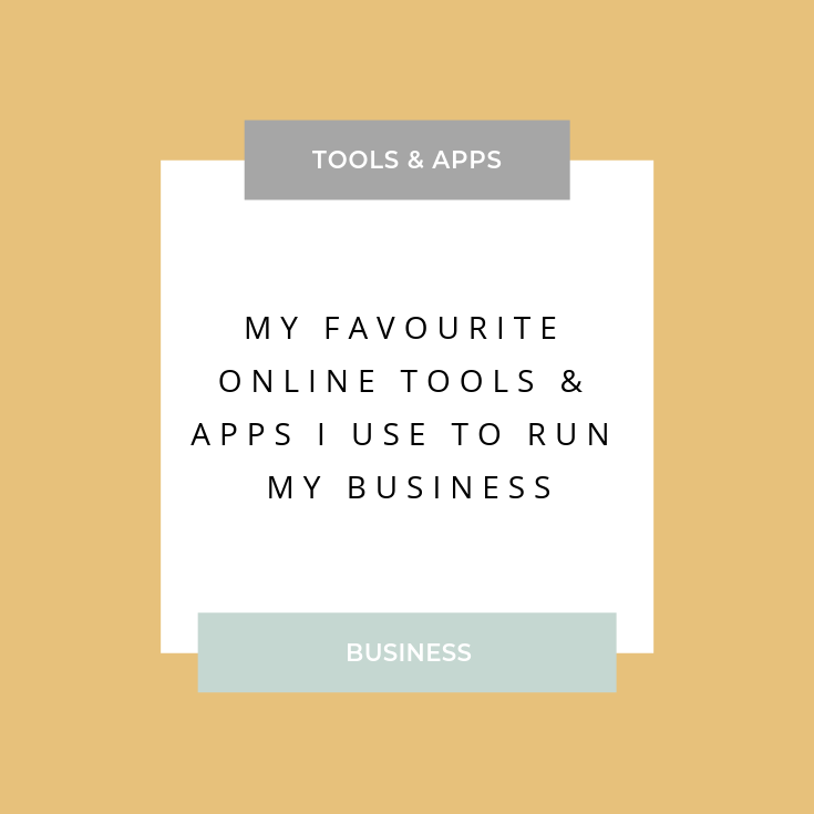 My favourite online business tools and apps