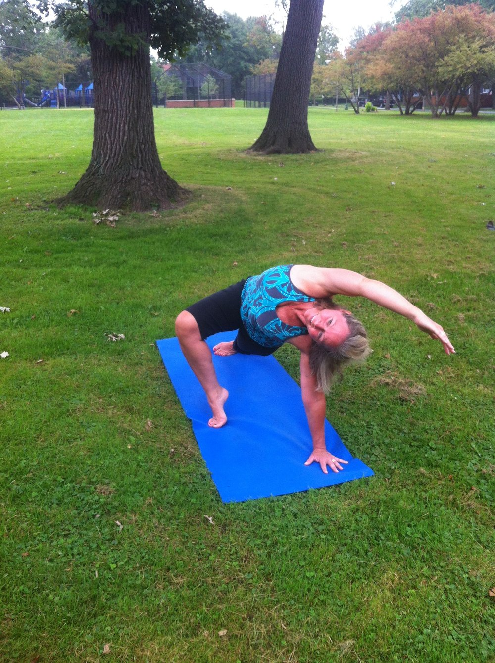 Colleen Patton  - Occupational Therapist & Yoga Instructor Colleen teaches her Therapeutic Yoga on Mondays at 5:45pm