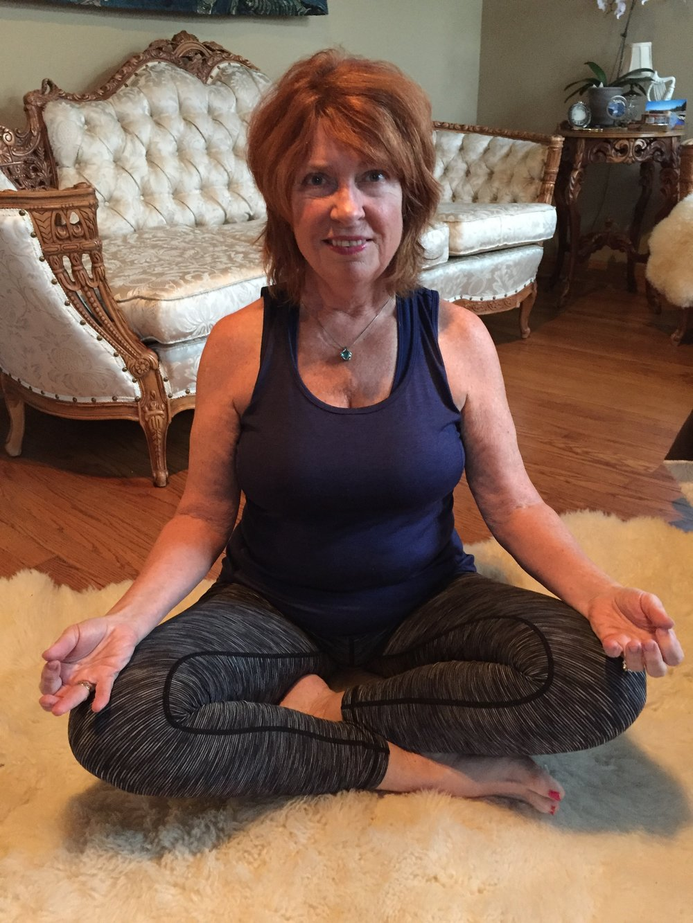 Maureen Ryan - Teaches: Yoga with Maureen, Yoga Nidra: Experience the Beauty of Deep Rest, Yoga in the Forest!Read More about Maureen Here