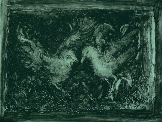 Night Dancing  8X7 - Solarplate