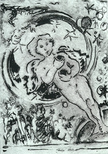 Angel Worlds  5X7 - Solarplate