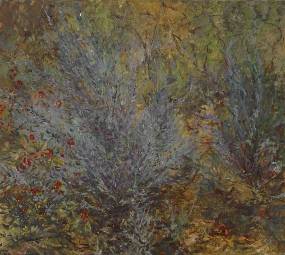 Fall Lavender  25x28 - Oil on Linen