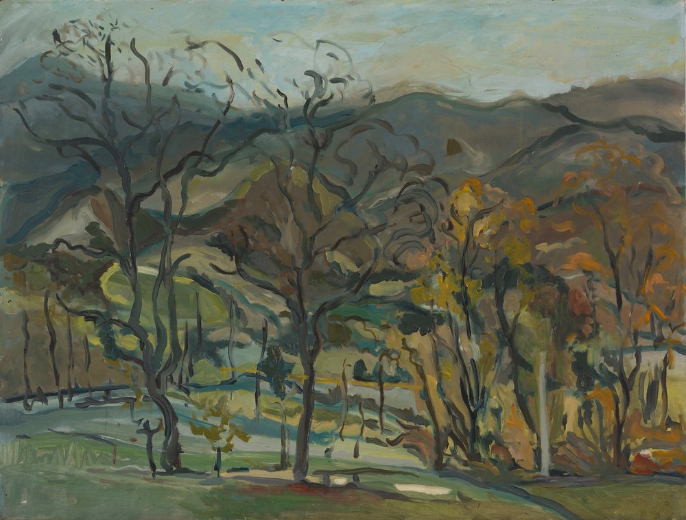 Vermont, Early Spring  22X26 - Oil on Board