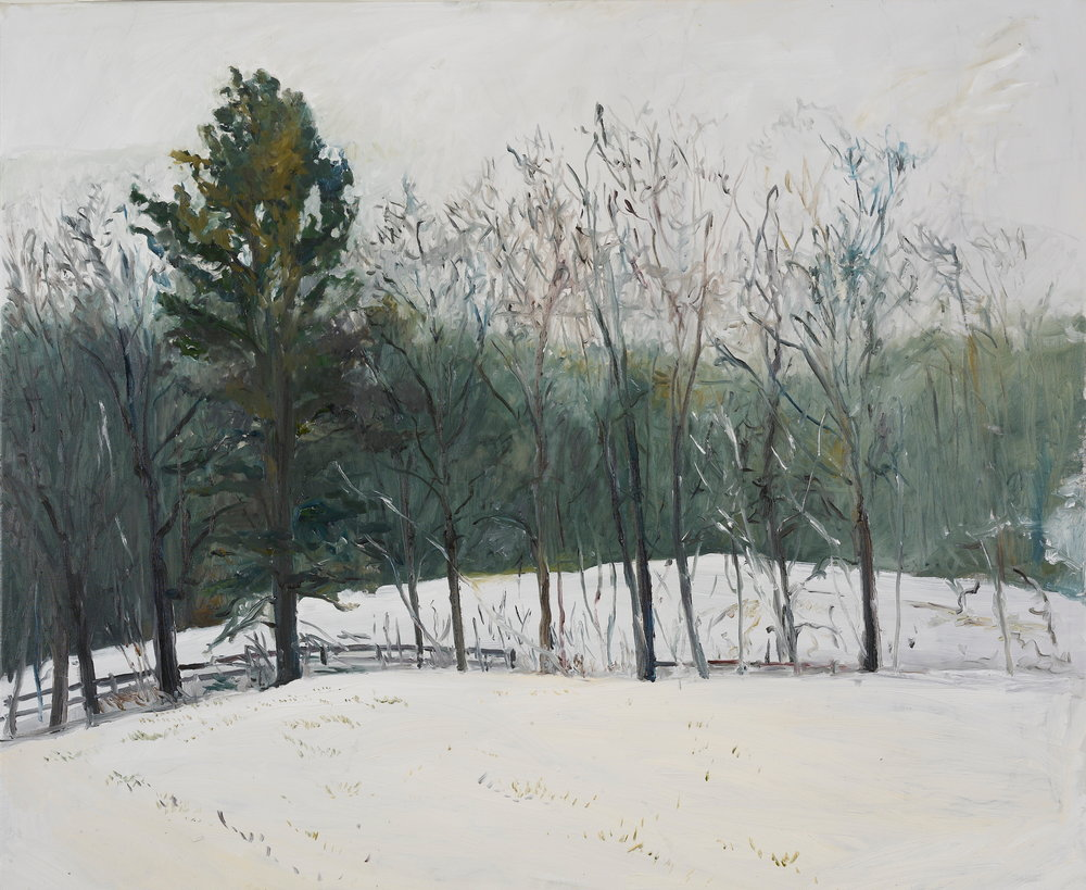 Vermont Winter  30X32 - Oil on Canvas