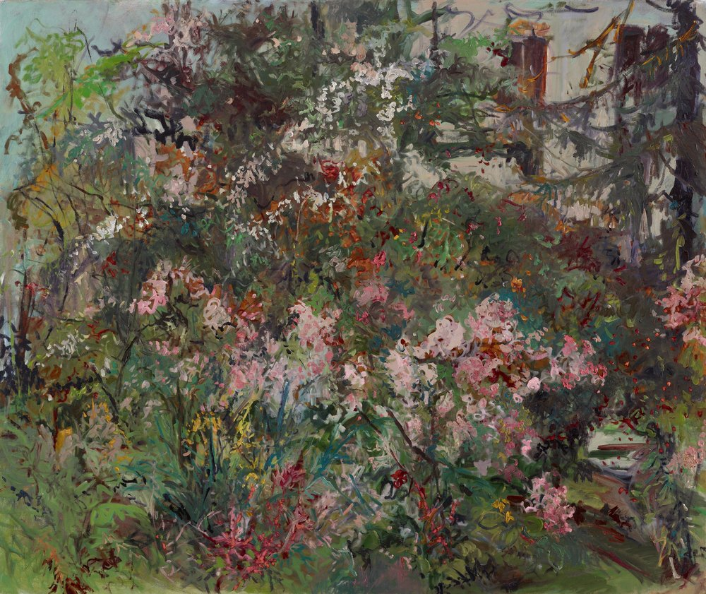 Ballerina Roses, High Summer  42X50 oil on canvas