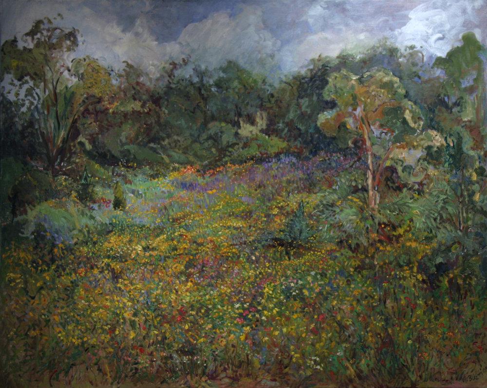 Field of Tears, Avalon  50X58 - Oil on Linen
