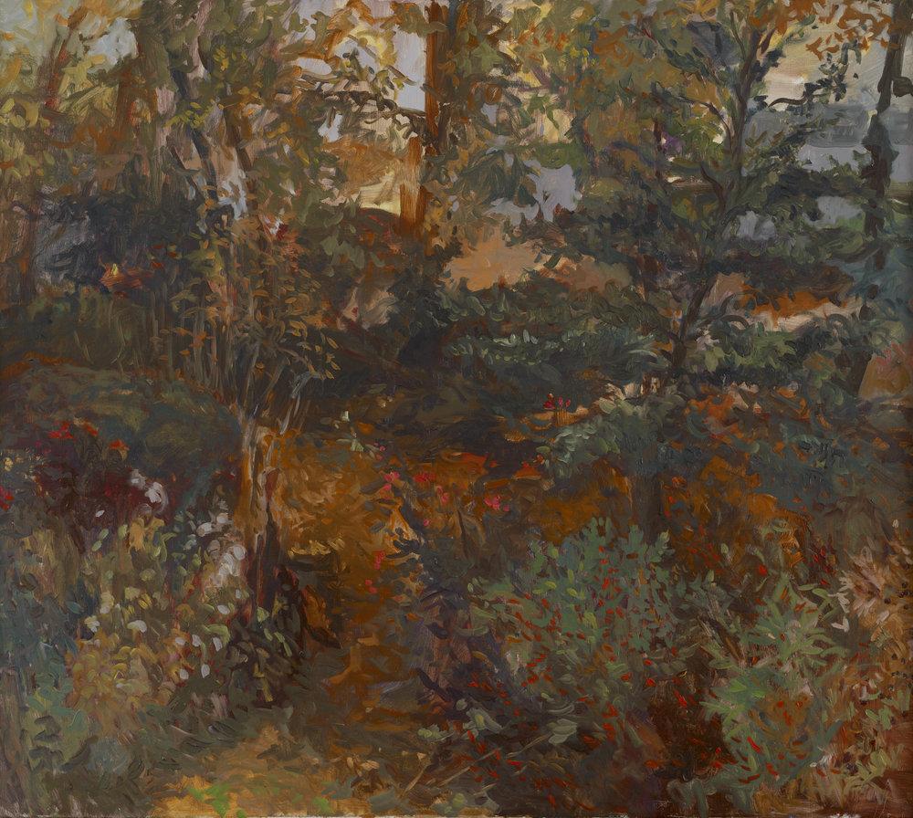 Late November  31X34 - Oil on Linen