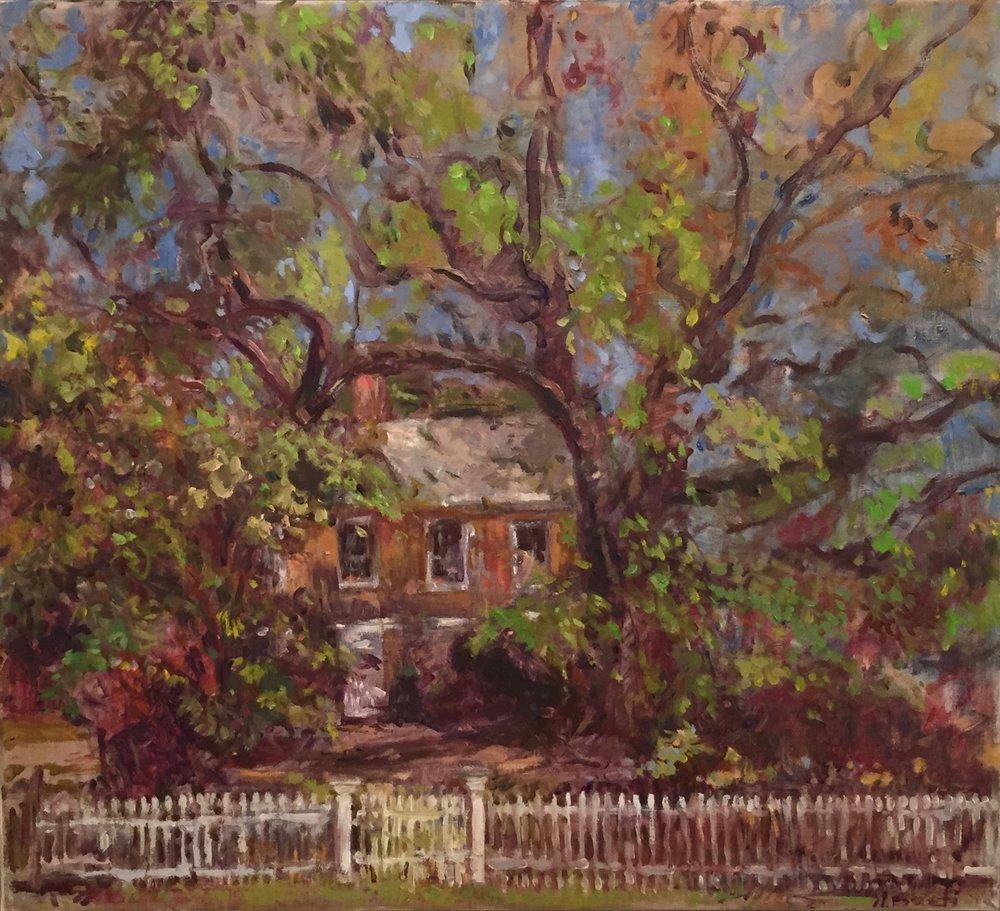 Sherwood Jane House  22X24 - Oil on Linen
