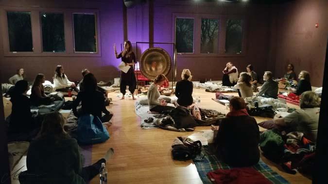 Delamora Overnight Awakenings Event