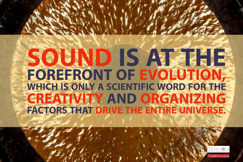 Sound at the forefront of evolution