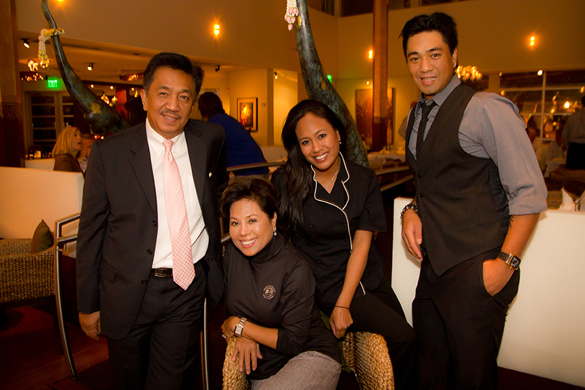 """tHE nIYOMKUL FAMILY - Sa-Wat-dee-kup and welcome to the Tamarind Restaurant Group. Since 1997, my wife, daughter, son and I have worked hard each day to bring the true Thai experience to Atlanta. From one generation to the next, our family passion has been to create the most memorable dining experiences for our guests. Please join us at one of our restaurants and let us give you what our family has worked hard to say, """"this is Thailand, Thailand at its best"""".- Charlie Niyomkul"""