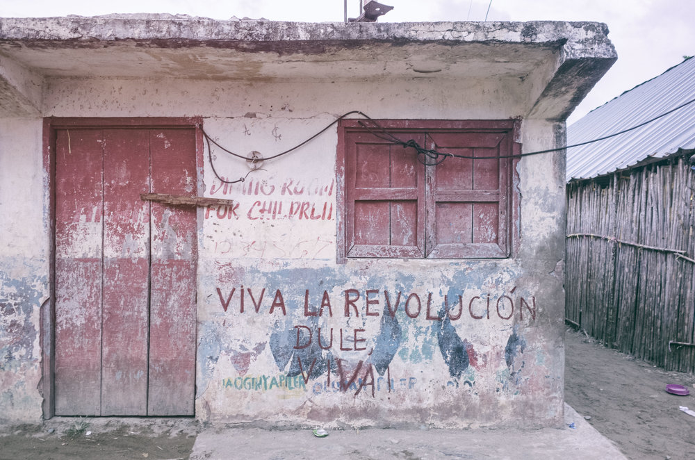 The 1925 Dule Revolution established the creation of autonomous  Guna  districts -  comarcas  - such as  Guna Yala .