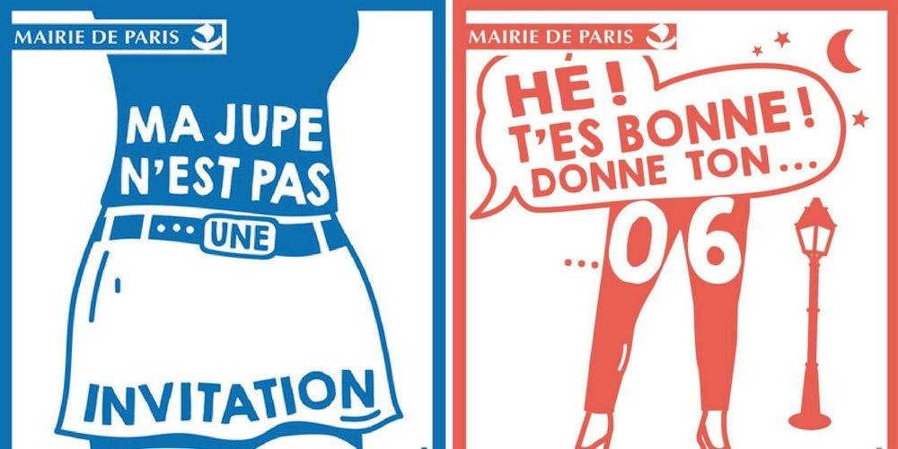 Campagne d'affichage de la mairie de Paris