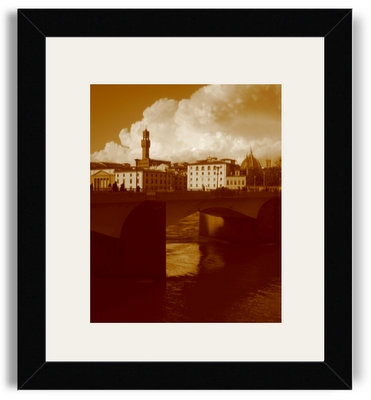 Kelli Glancey Firenze- La Luce sull'Arno Black Frame White Mat.jpg