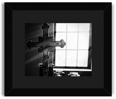 James Infelt Photography Meditation Room at Wartburg Seminary Black Frame Black Mat.jpg