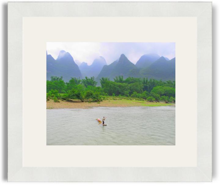 Rachel Query Yangshuo White Frame White Mat.png