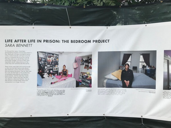 "Sara Bennett's ""Life After Life in Prison"" exhibit examines the lives of four women as they returned to society after spending decades in prison."