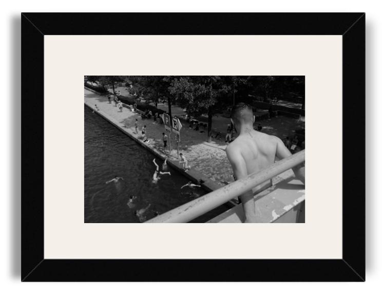 Yvan Des Costards Black Frame White Mat.png