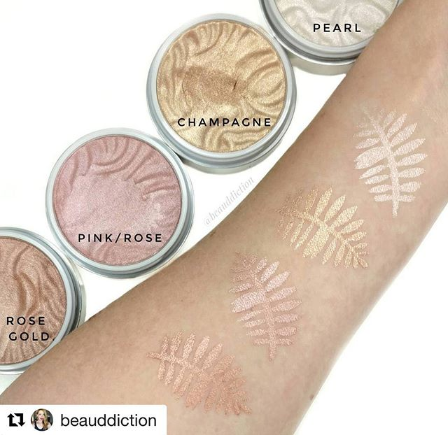 I absolutely LOVE the Physicians Formula Butter Bronzer & I'm so excited to try these!😍😍😍😍 #Repost @beauddiction (@get_repost) ・・・ Swatches of the new @physiciansformula Butter Highlighters ($9.99 at Harmon/Bed Bath & Beyond). ✨✨✨ These are completely different than the Butter Bronzers/Blushes as it's a cream to powder formula. They have a soft, creamy, bouncy texture very similar to the Colourpop highlighters. 😍😍😍 They also come in less bulky packaging than the Bronzers/Blushes...instead of the more bulky compact with the sponge underneath, these are in a simple low-profile jar with a screw-on lid (again similar to Colourpop only larger). 👍 They go on super shiny and reflective and have that same coconut scent that the other Butter products have. 🌴 Swipe left to see close-ups of the pans.