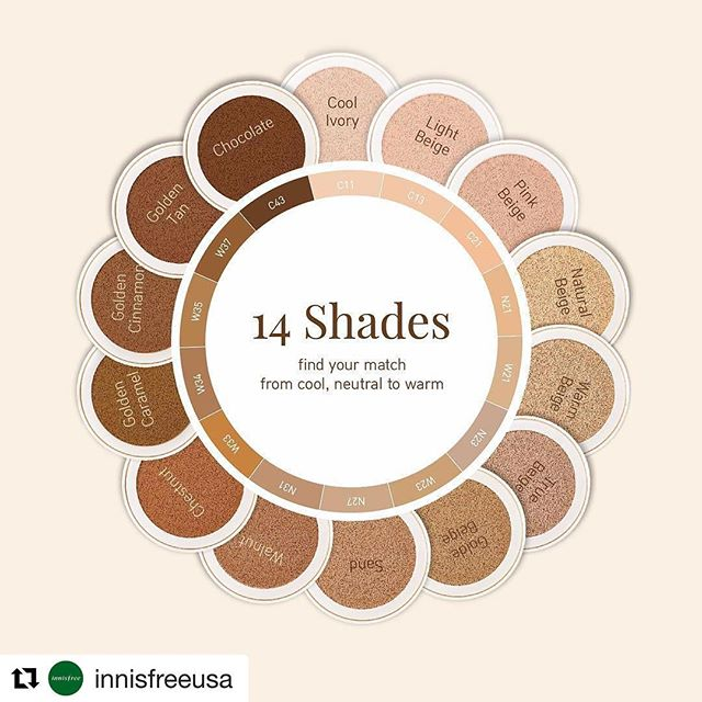 One of my upcoming blog posts is about the lack of darker shades in the Korean Skincare/Beauty & how much of a shame it is because Korean skincare/Beauty is literally the best! Then, I came across this 👏🏻👏🏻 this is such a huge step for the Korean Beauty community & im so excited for this ❤️ #londonbeautyblogger #skincare #beauty #wakeupandmakeup #londonbeautyblog #bbloggeruk #smallbeautyblogger #smallbeautyworld #lovemakeup #beautyproduct #beautyproductreview #london #girlboss #girlbossmagic #iamlatina #latinabeautyblogger #bloggerlatina #latinosinlondon #americansinlondon #londonblogger #blogger #bloggerlife  #Repost @innisfreeusa ・・・ Our Matte Full Cover and dewy, Aqua Fit Cushions come in 14 shades of perfect-for-you-color. Find your fit today! Shop now in-store or online at us.innisfree.com #innisfreeusa #mycushion #mycompact #innisfree