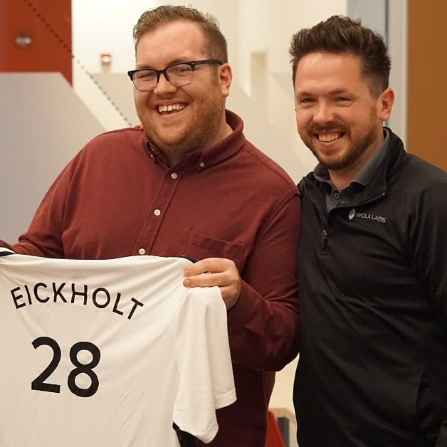 Nikola Labs welcomes our newest team members:  Business Development Manager Jordan Eickholt and CTO Eric Stickel.  #growing #startup #team #jersey