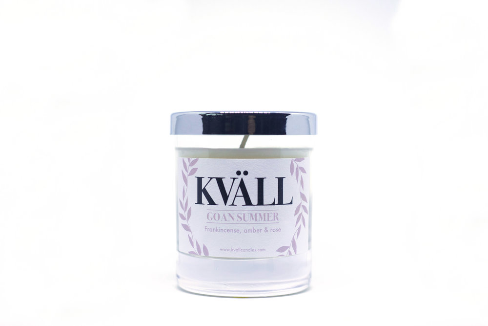 kvall candle goan summer
