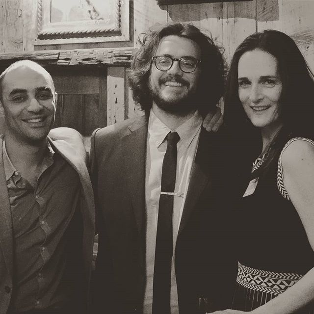 Director - Saheem Ali, Playwright - Nathaniel Shapiro, and Dialect Coach - Charlotte Cohn.