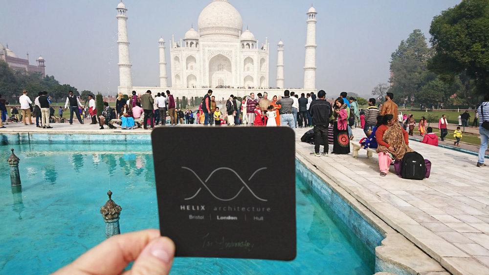 Beer Mat Global Challenge' - Taj Mahal - India - DONE