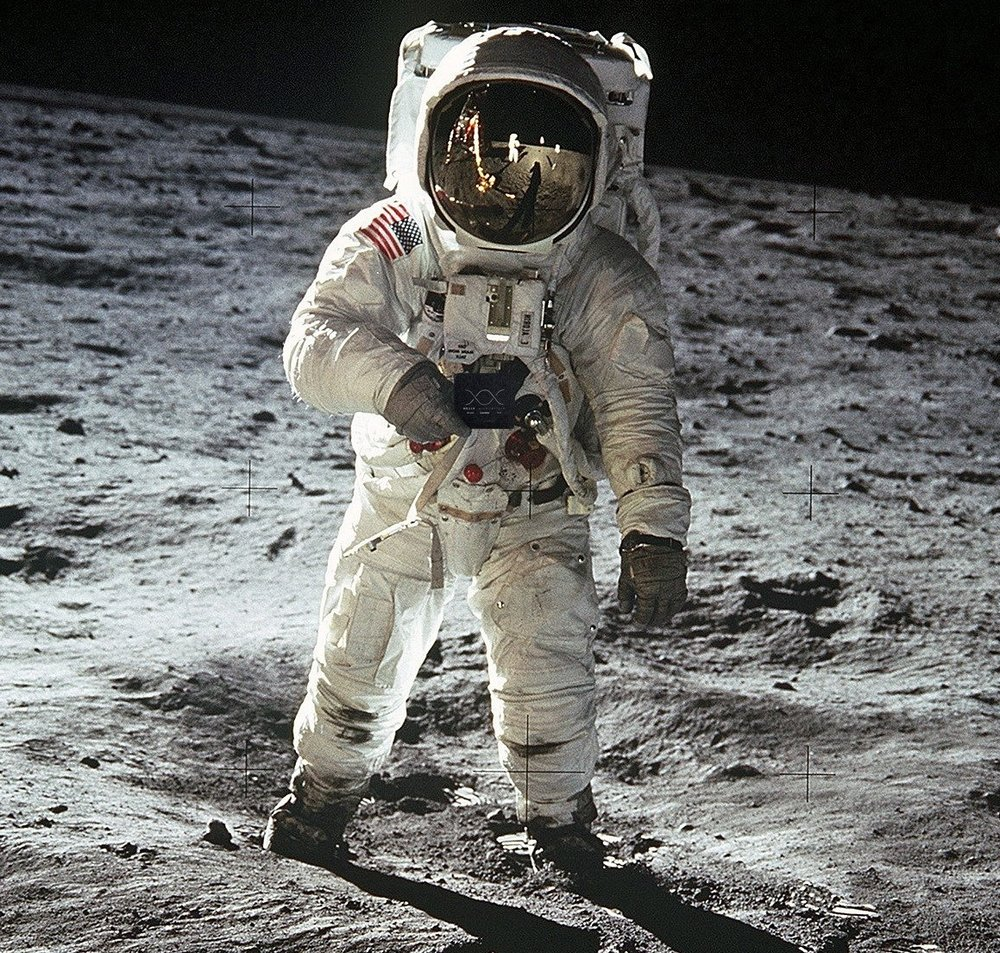 'Beer Mat Space Challenge' - Thank you NASA - Moon - DONE