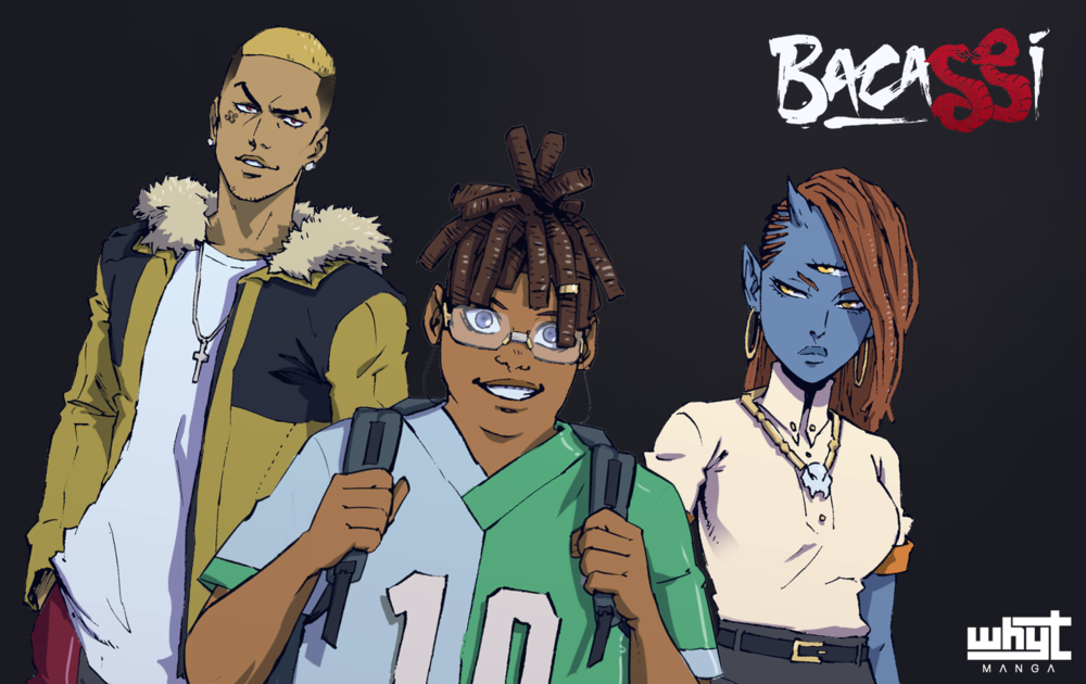 BACASSI - the new SEINEN MANGA by Saturday AM co-founder / APPLE BLACK creator - Whyt Manga.