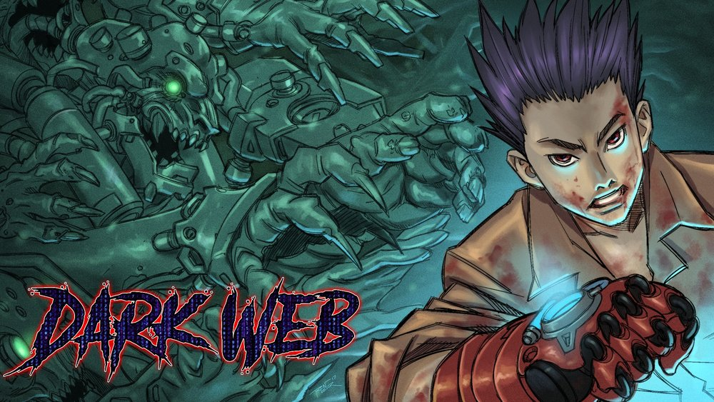 DARK WEB is the SEINEN MANGA series by Jack Sherwin!