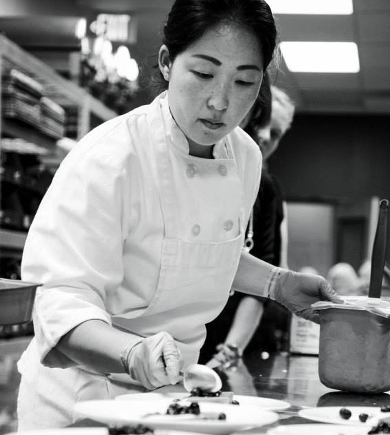 Michelle Kwak - Classically trained at the French Culinary Institue and has worked in restaurants from Texas to Manhattan to Chicago. Developed a deep love for Create Common Good by serving on CCG's staff as Chef & Job Trainer before becoming the Pastry Chef at State & Lemp. Currently working on new project, KIN, with Chef Kris Komori.