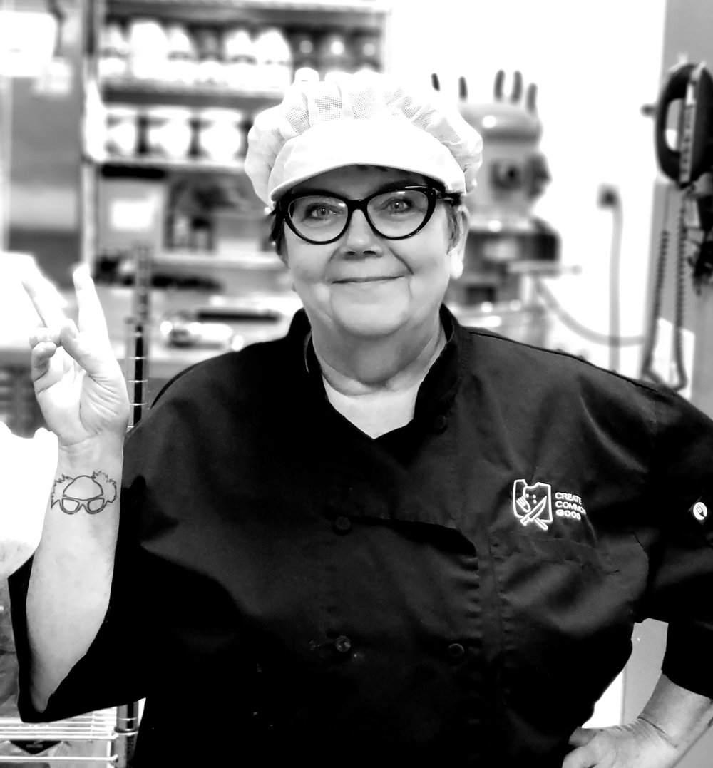 DIANE DALTON - Executive Chef with experience working all over the country and in several of Boise's most notable establishments - most recently, Lemon Tree Co. in downtown Boise. Nominated for Boise's Best Chef 2018, in Boise Weekly's Best of Boise.Currently on the managment team at CCG, leading our kitchen and food production social enterprise.