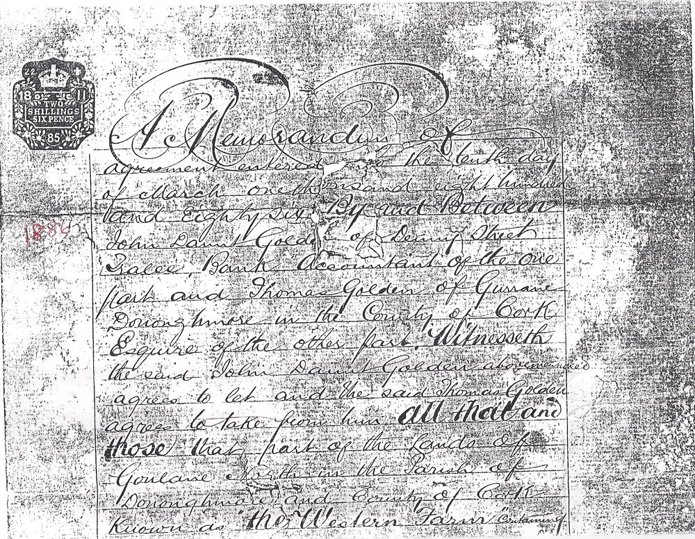 Western Farm agreement between John Daunt Golden and Thomas Golden 1.jpg