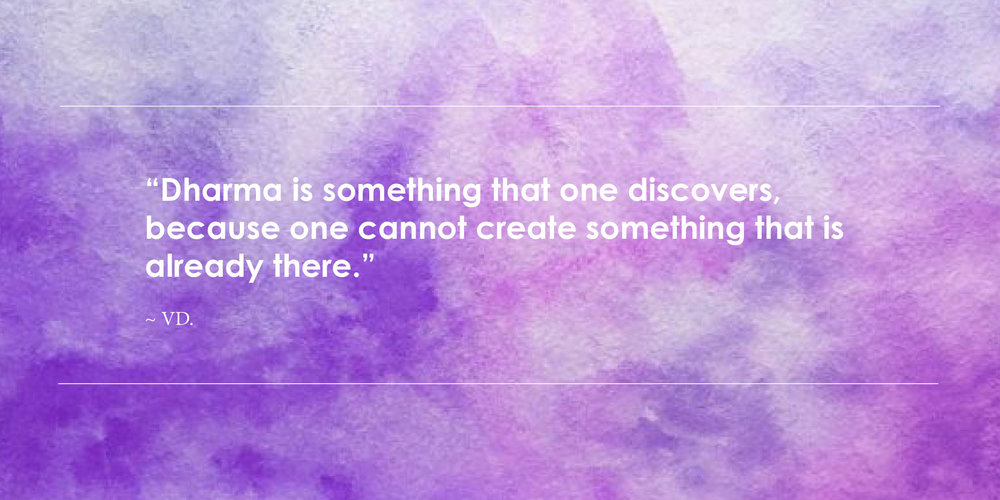 dharma quote