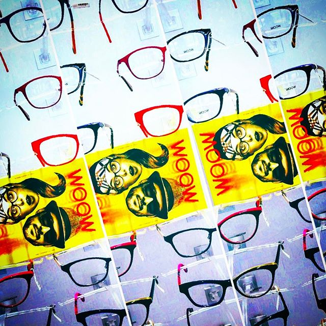 We ❤️ @wooweyewear. Come try on a pair or twelve today at our award-winning Optical Boutique. 🖤❤️💛