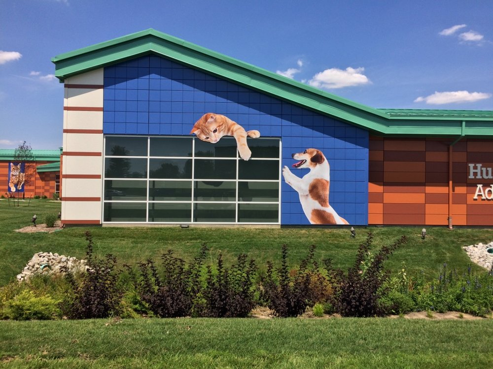 Humane Society designed by 501 Creative and fabricated by ASI St. Louis