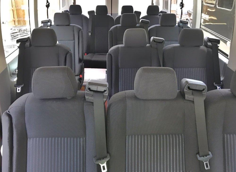 Ford Transit Sprinter Class Van Interior