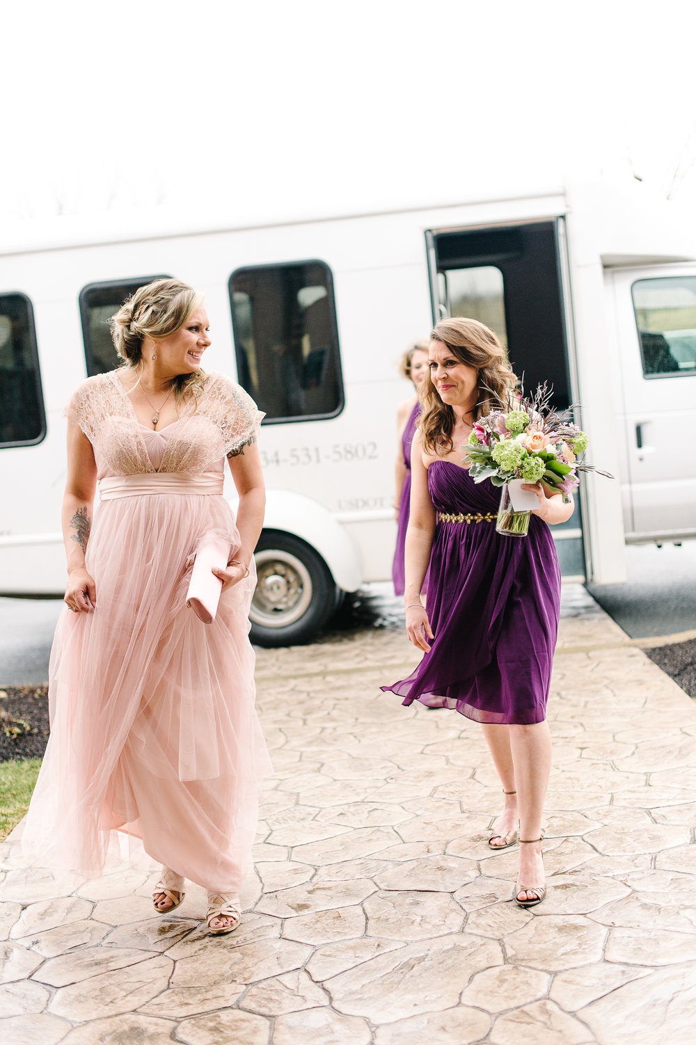 Bridal Party Wedding Transportation