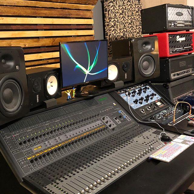 Studio remodel going very well! 🤘🏼