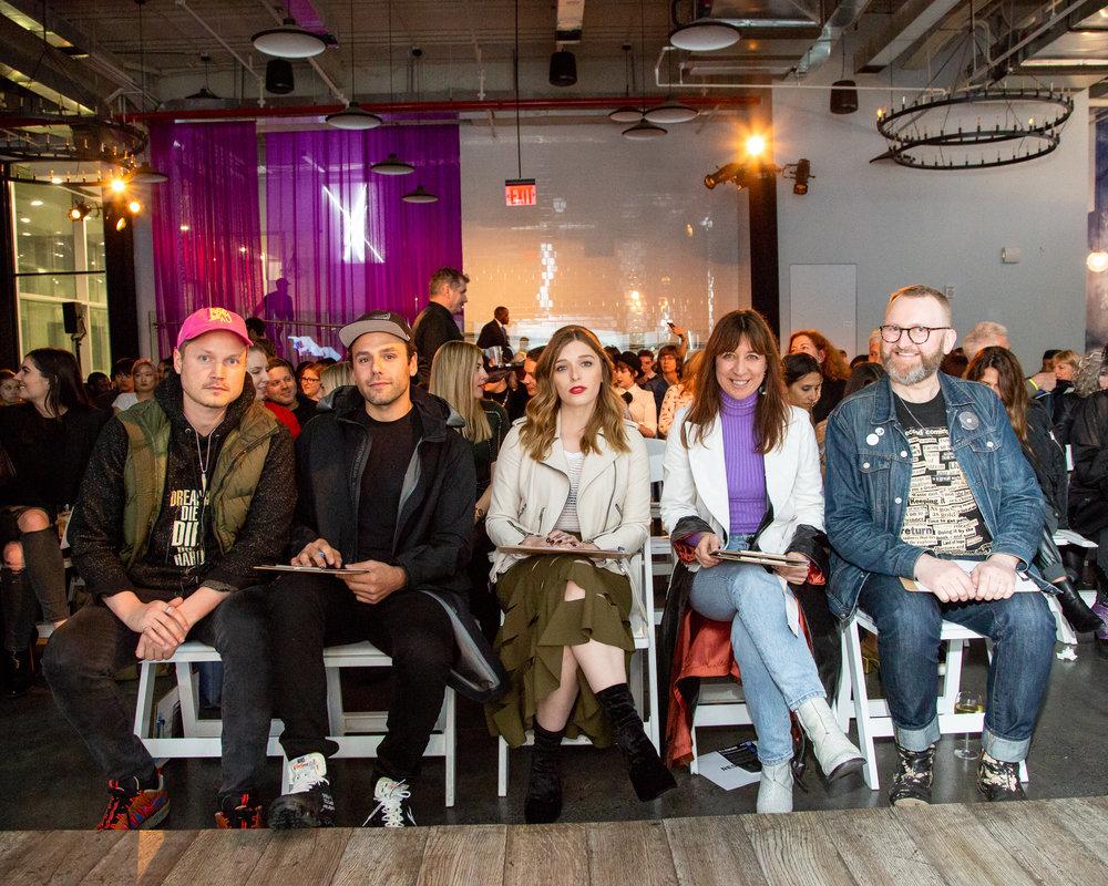 Guest Judges (Credit: Mina Magda/BFA.com)