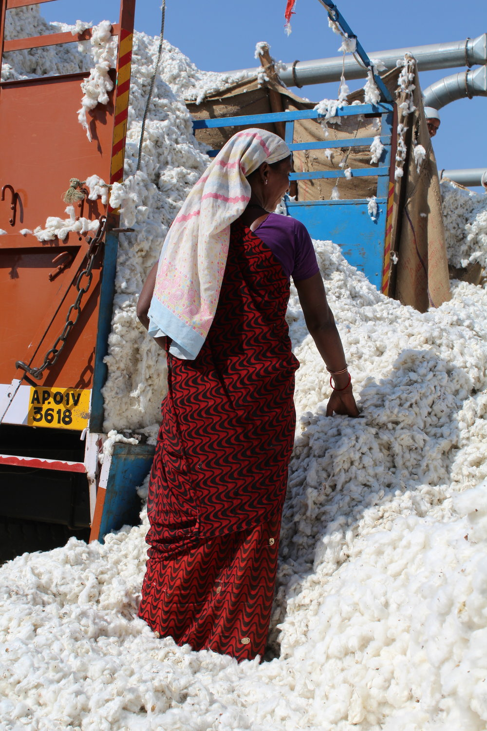KTO sources its 100% organic cotton in India.