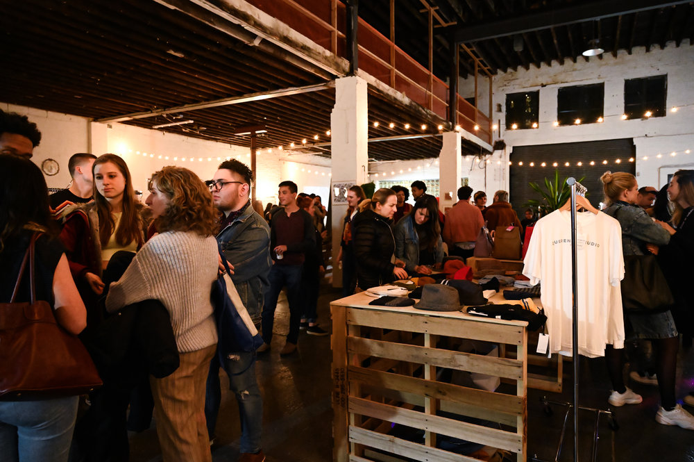 A full house on January 25, 2019 at The  Eco-Art Showcase , hosted by SUSTAIN x The Brooklyn Art House.