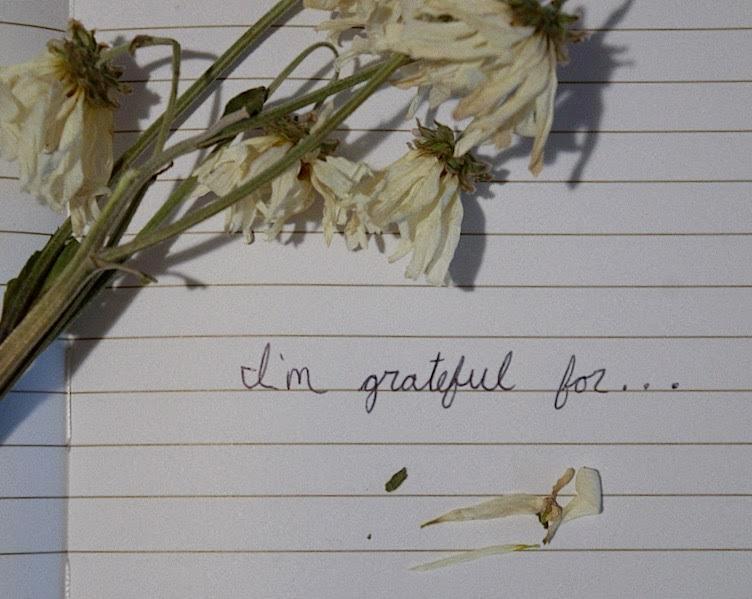 Share your gratitude through words.